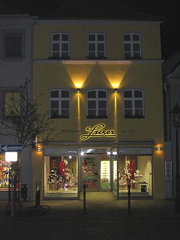 Aussenbeleuchtung Fassade fassaden wand leuchten aus dem programm wohlrabe lichtsysteme
