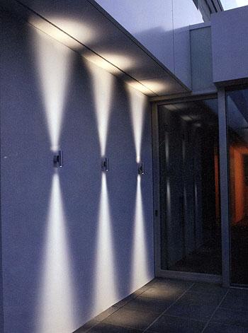 Fassaden Wand Leuchten In Led Technik