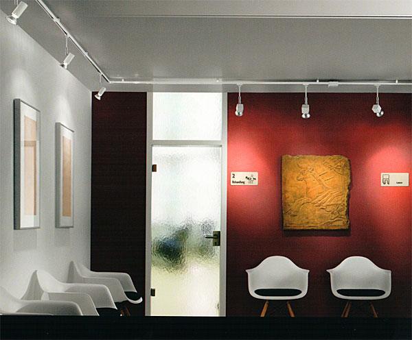 hochvolt schienensystem voltino duolare von bankamp bruck mit den leuchten teil 2 im. Black Bedroom Furniture Sets. Home Design Ideas