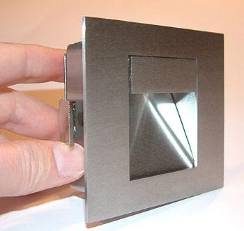 wandeinbauleuchte edelstahl lichthaus halle ffnungszeiten. Black Bedroom Furniture Sets. Home Design Ideas