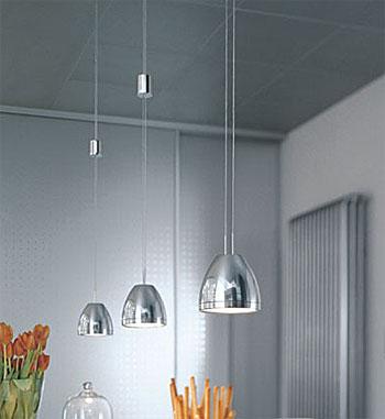 die leuchten teil 2 des seilsystems light line von oligo. Black Bedroom Furniture Sets. Home Design Ideas